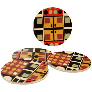 Alexander Black Coaster Set