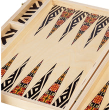 Load image into Gallery viewer, Alexander Black Tabletop Backgammon Set