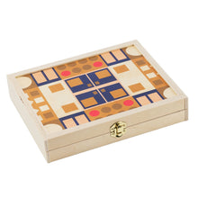 Load image into Gallery viewer, Alexander Olive Travel Backgammon Set
