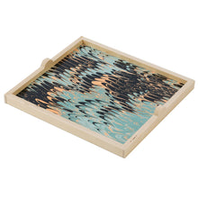 Load image into Gallery viewer, Seafoam Marble Square Tray
