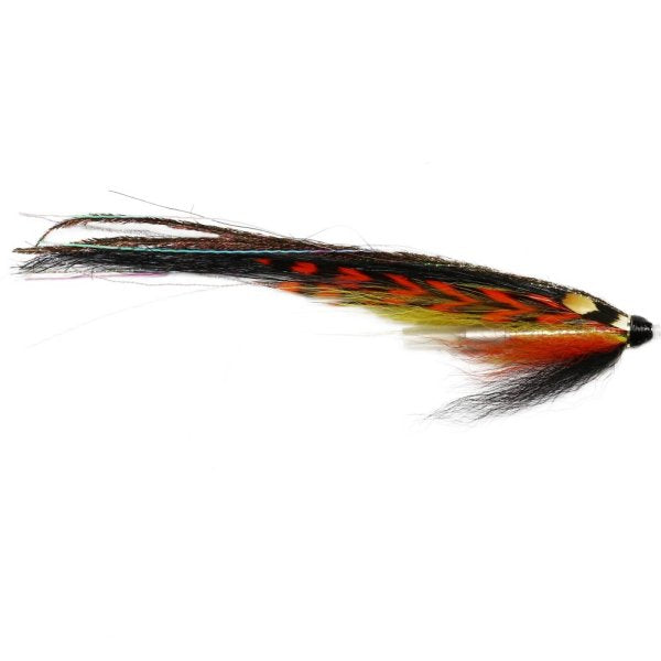 12 V Fly X Strong Silver Nordic Salmon Tube Fly Double Hooks Sizes 6 to 12