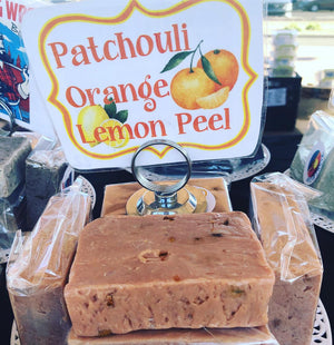 Patchouli Orange Lemon Peel