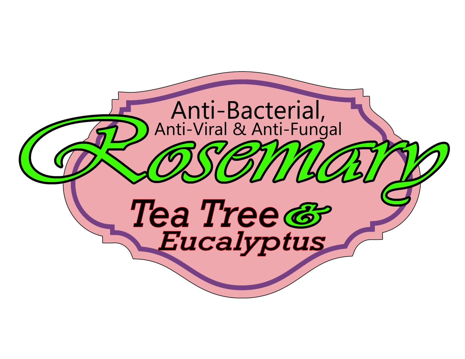 Rosemary, Tea Tree, & Eucalyptus