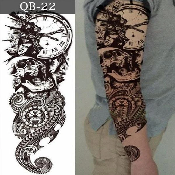 Add 10 to cart, 4 of them is free-Discount code: B6 -Waterproof Temporary Body Tattoo