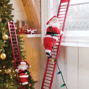 (50% OFF)Electric climbing Santa- Limited Edition