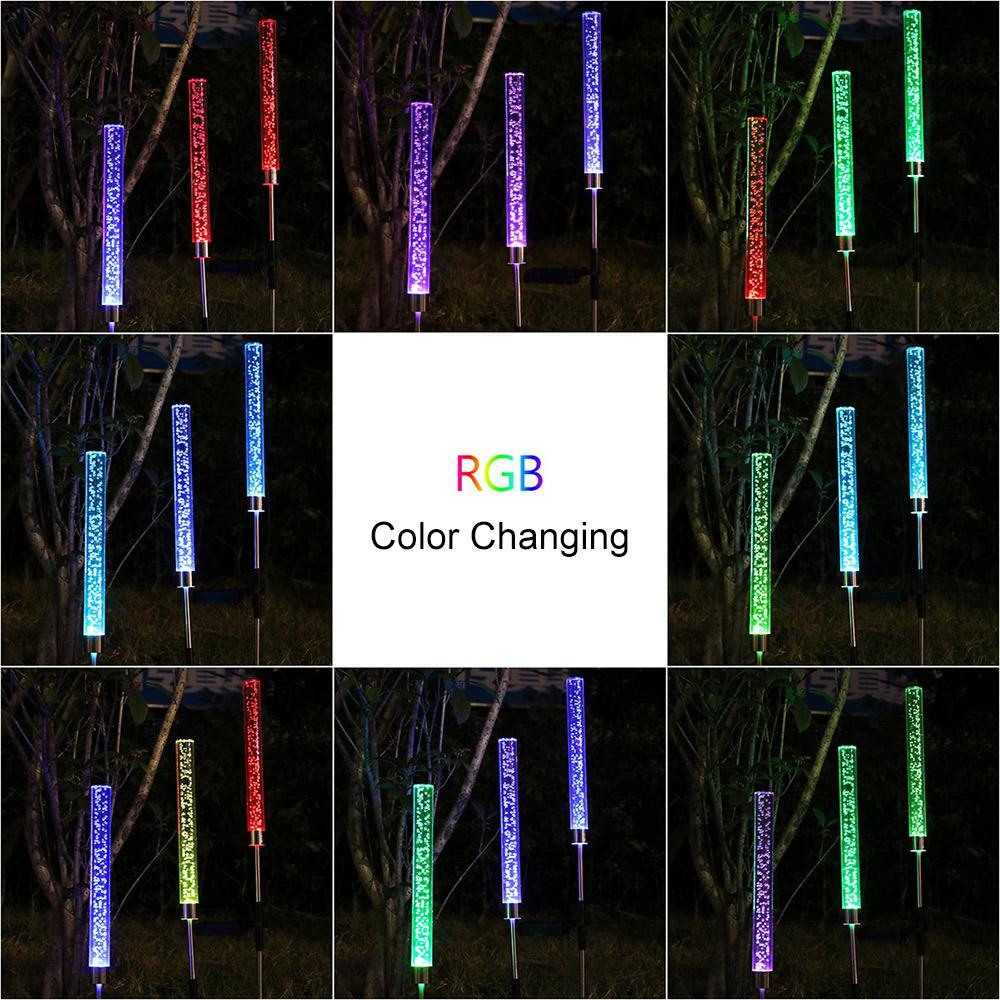 💘Free Shipping💘 Solar Color Changing Acrylic Bubble Stick - EARTHERUP