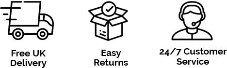 Fast Shipping, Easy returns, 24/7 Customer Service