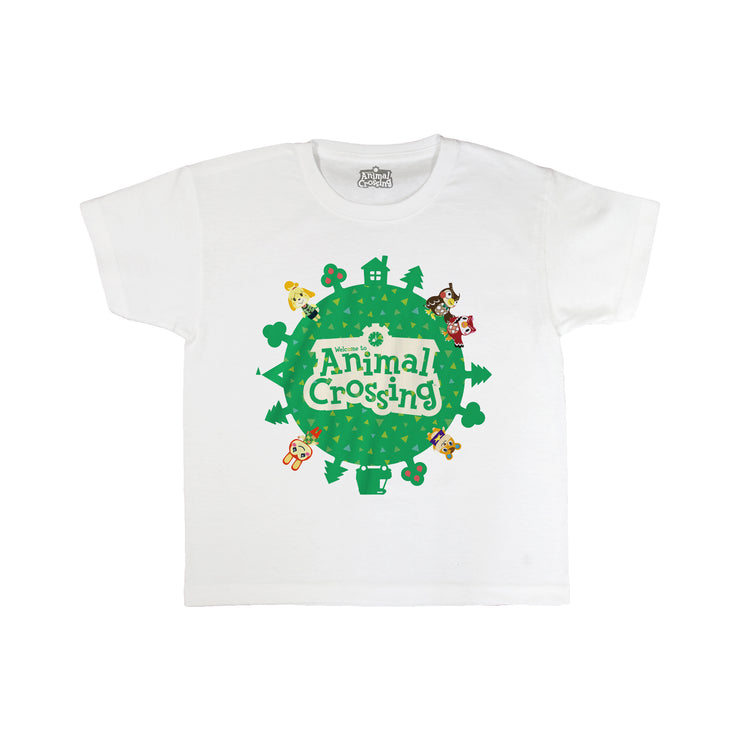 Animal Crossing Logo Boys T-Shirt - Popgear