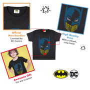DC Comics Batman 8-Bit Mask Boys T-Shirt - Popgear