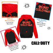 Call Of Duty Black Ops Cold War Text Logo Men's Pullover Hoodie - Popgear