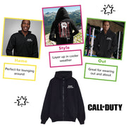 Call Of Duty Black Ops Cold War Mission Men's Zippped Hoodie - Popgear