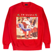 Friends Father Christmas and Superman Men's Crewneck Sweatshirt - Popgear