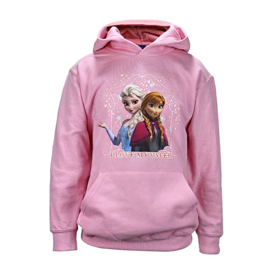 Disney Frozen 2 I Love My Sister Girls Pullover Hoodie - Popgear