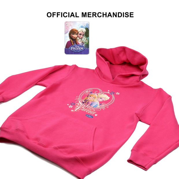 Disney Frozen 2 Sisters Forever Girls Pullover Hoodie - Popgear