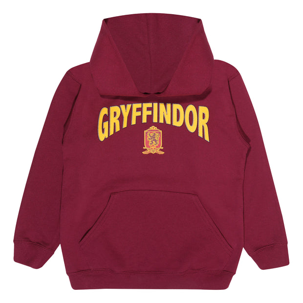 Harry Potter Gryffindor Shield Boys Pullover Hoodie | Official Merchandise Front Image by Popgear
