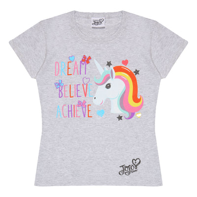 JoJo Siwa Unicorn Dream Girls T-Shirt - Popgear