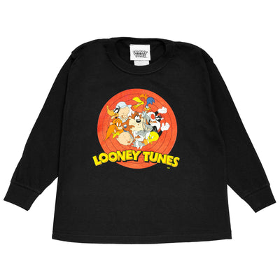 Looney Tunes Character Group Boys Long Sleeve T-Shirt - Popgear
