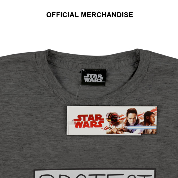"Star Wars: The Mandalorian The Child ""Protect, Attack, Snack!"" Men's T-Shirt - Popgear"