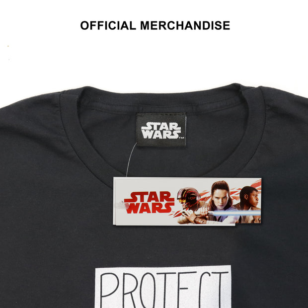 Star Wars The Mandalorian The Child Protect Attack Snack Boys T-Shirt - Popgear