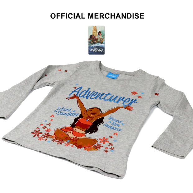 Disney Moana Adventurer Girls Crewneck Sweatshirt - Popgear