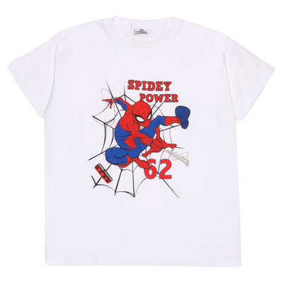 Marvel Comics Spider-Man Spidey Power Boys T-Shirt - Popgear