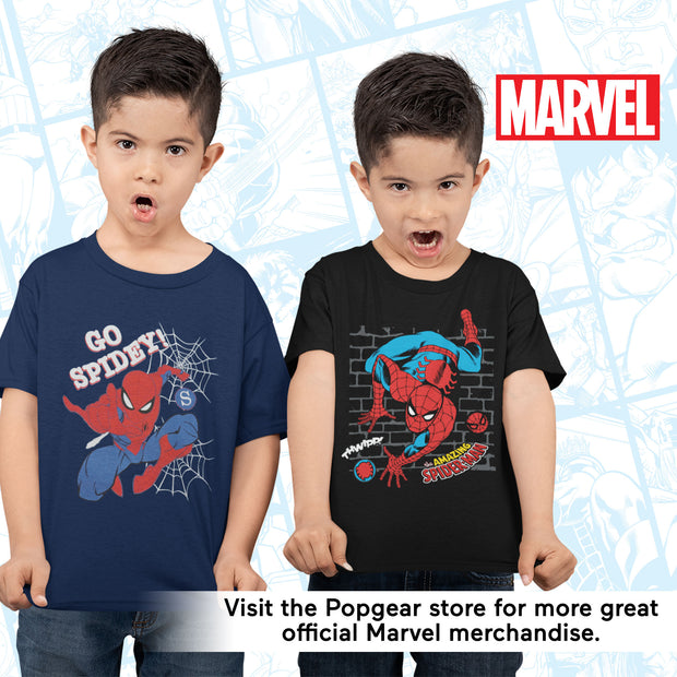 Marvel Comics Spider-Man Go Spidey Boys T-Shirt - Popgear