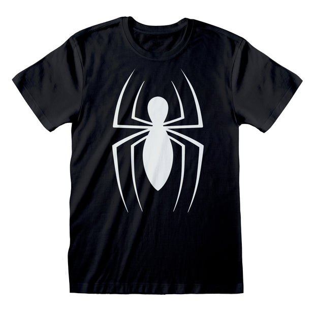 Marvel Comics Spider-Man Classic Logo Men's T-Shirt - Popgear