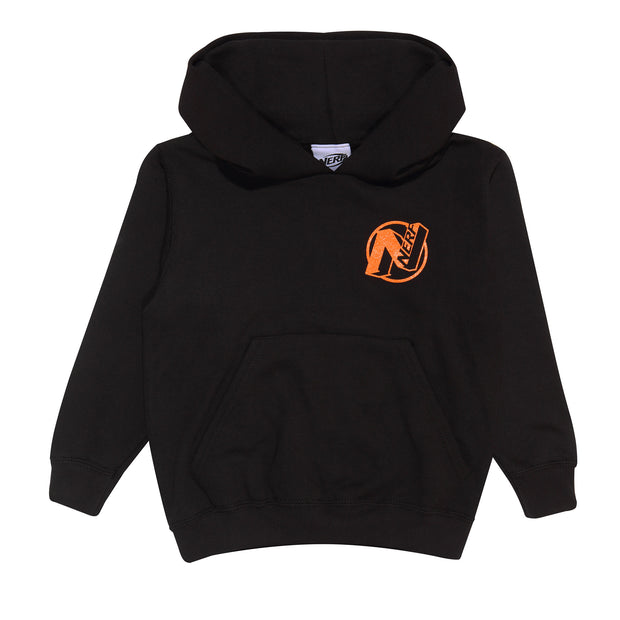 Nerf Logo Boys Pullover Hoodie | Official Merchandise Front Image by Popgear