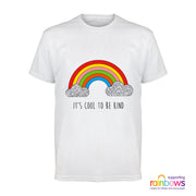 Popgear Rainbows Hospice Cool To Be Kind Men's T-Shirt - Popgear