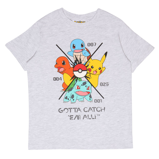 Pokemon Gotta Catch Em All Boys T-Shirt | Official Merchandise Front Image by Popgear