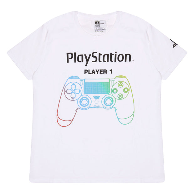 Playstation Game Over Boys T-Shirt - Popgear
