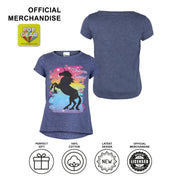 Unicorn Squad Rainbow Girls T-Shirt - Popgear
