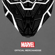 Marvel Black Panther T'Challa Mask Men's T-Shirt | Official Merchandise Angle Image 3 by Popgear