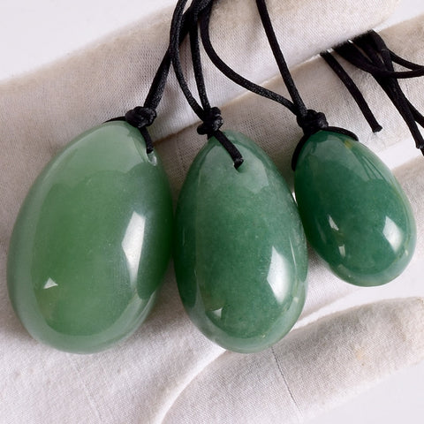 Jade Yoni Egg Set