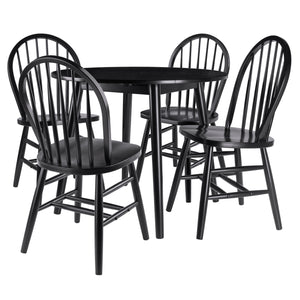 Winsome Moreno 5-PC Set Drop Leaf Table with Chairs