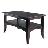 Winsome Camden Coffee Table Coffee Finish
