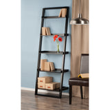 Winsome Bailey Leaning Shelf 5-Tier