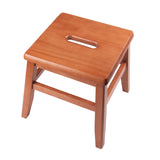 Winsome Kaya 2-PC Set Conductor Stool Teak Finish