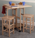 Winsome Suzanne 3-Pc Space Save Set Beech