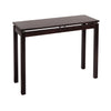 Winsome Linea Console / Hall Table with Chrome Accent