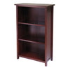 Winsome Milan Storage Shelf or Bookcase 4-Tier- Medium
