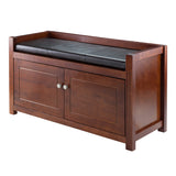 Winsome Charleston 2-Pc Storage Hall Bench Set
