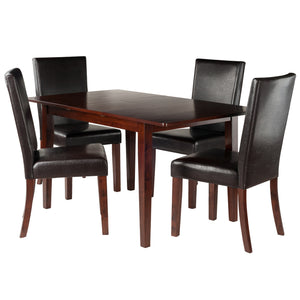 Winsome Anna 5-PC Dining Table Set w/ Chairs