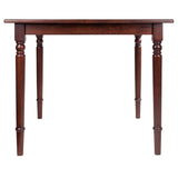 Winsome Mornay Dining Table Walnut Finish