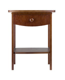 Winsome Claire Accent Table Anitque Walnut Finish