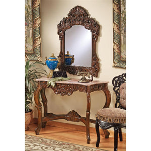 TOSCANO DORDOGNE MIRROR AND CONSOLE SET