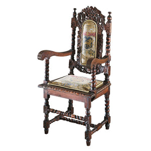 TOSCANO CHARLES II ARM CHAIR