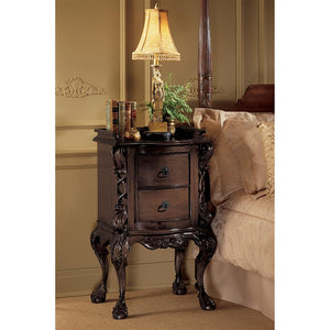 TOSCANO CHATEAU LORRAINE BEDSIDE TABLE