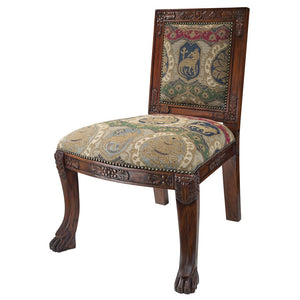 TOSCANO BEARDSLEY LION SIDE CHAIR - CHARLES FABR