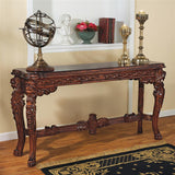 TOSCANO LORD RAFFLES LION LEG CONSOLE TABLE